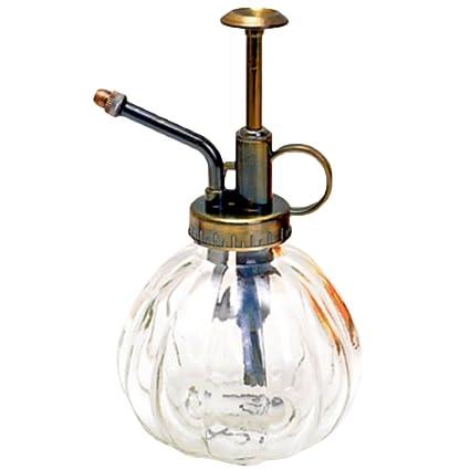 Westeng 1 Pcs Botella de spray Rociadores Moda Retro Antigua de Vidrio Aerosol Botella Riego suculentas