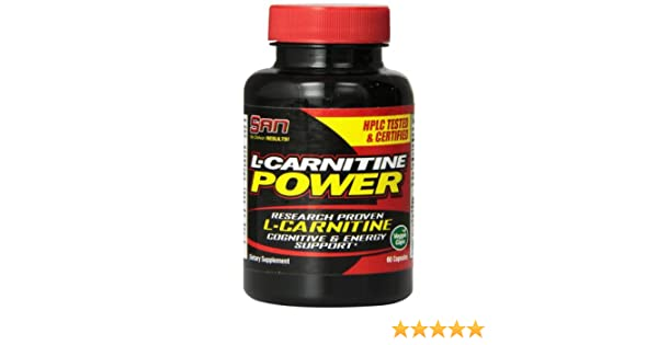 Amazon.com: SAN L-Carnitine Power Capsules, 60 Count: Health & Personal Care