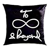 UNOVISTA HOME 3D Embroidered Infinity Cushion