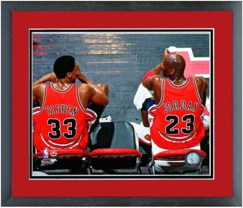 NBA Michael Jordan & Scottie Pippen Chicago Bulls Photo 12.5