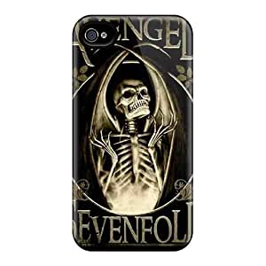 Iphone 4/4s Case Cover With Shock Absorbent Protective YkA1619ERjK Case