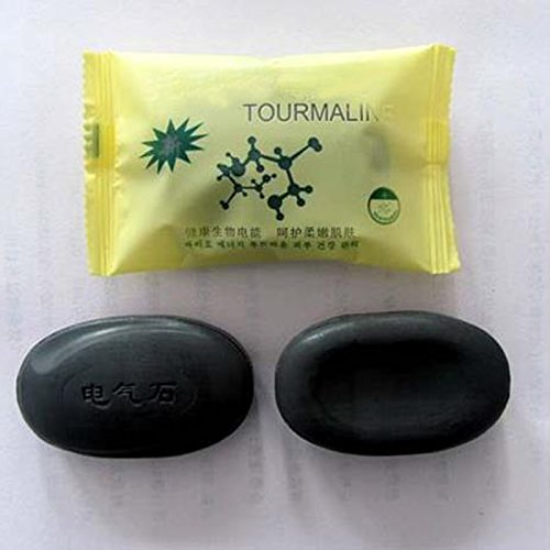 Portal Cool New Tourmaline Soap Personal Care Soap Face & amp; Body Beauty Healthy Care H7JP: Favore Naturale Wide Spread