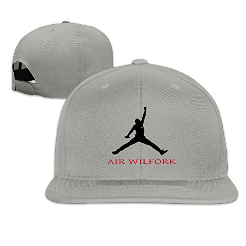 [Custom Unisex Air #75 Wilfork Flat Bill Baseball Visor Cap Ash] (Flash Drive Costume)