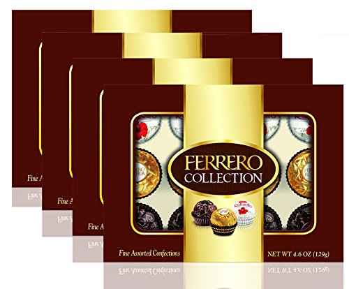 Ferrero Collection, 12 Count, 4.6 Ounce (129 gm) (12 Piece (Pack of 4))