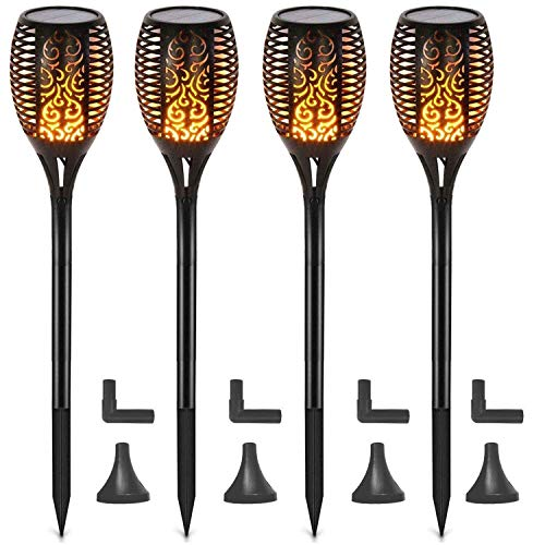 Outdoor Electric Tiki Lights