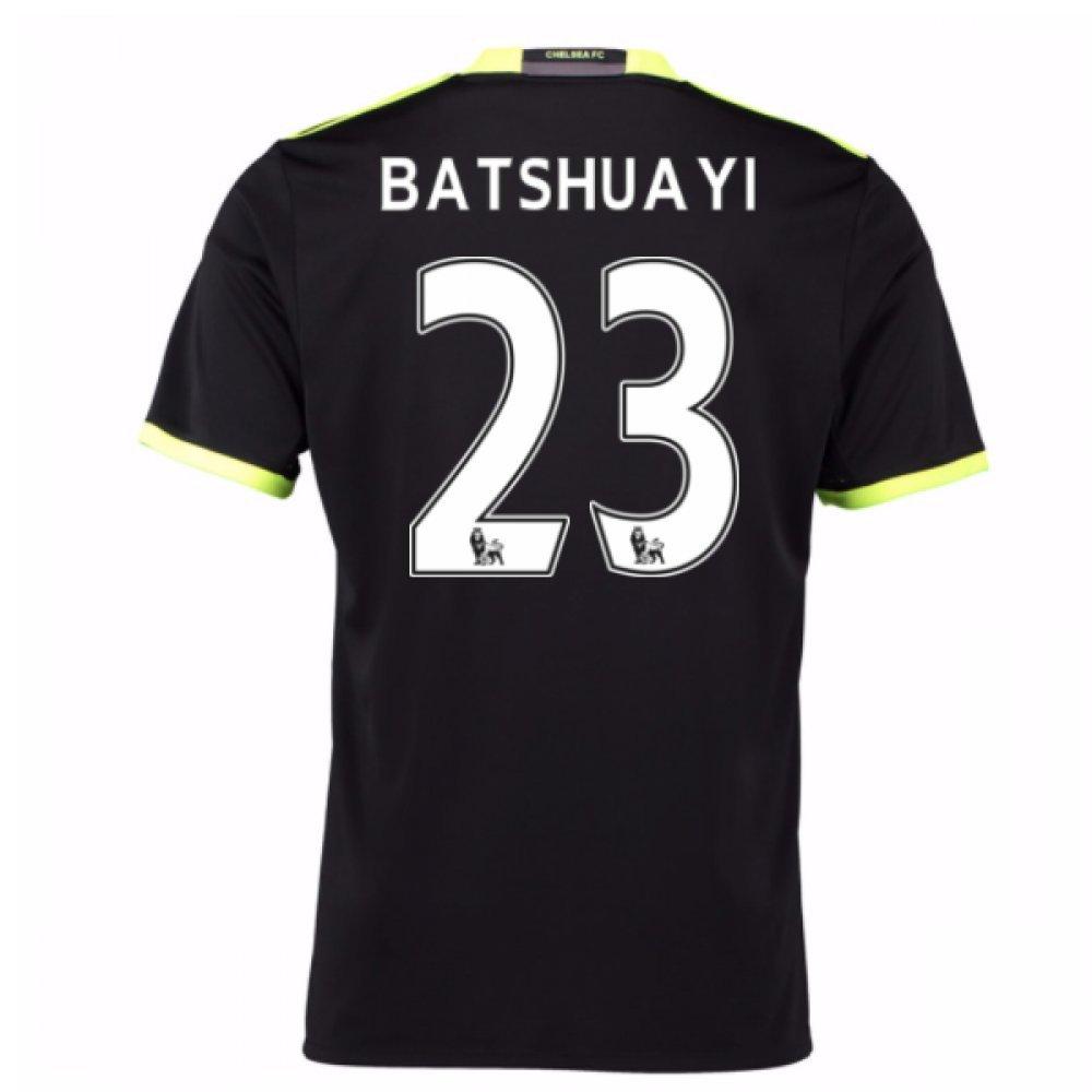 2016-17 Chelsea Away Football Soccer T-Shirt Trikot (Mitchy Batshuayi 23) - Kids