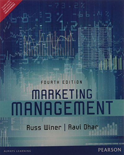 Marketing Management, 4th ed by Winer (2003-07-06)