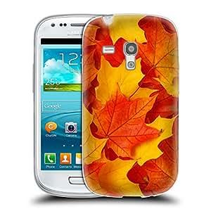 Super Galaxy Coque de Protection TPU Silicone Case pour // V00001669 hojas de otoño // Samsung Galaxy S3 MINI i8190