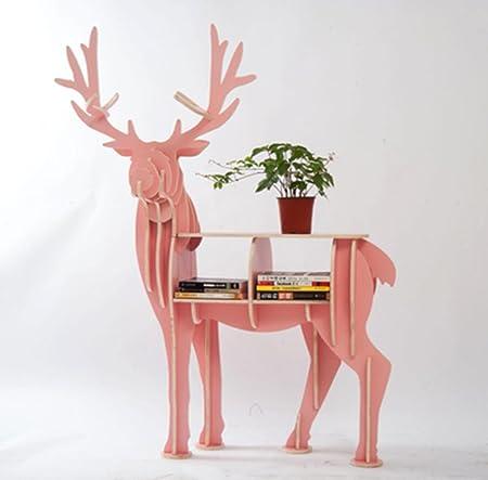 HETAO personality Animal bookshelf Elk shelves For the living room ...