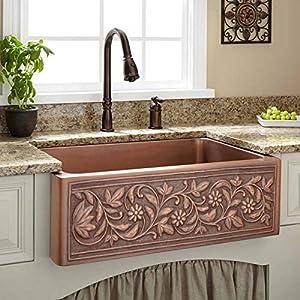 51OLfFeGHFL._SS300_ Copper Farmhouse Sinks & Copper Apron Sinks