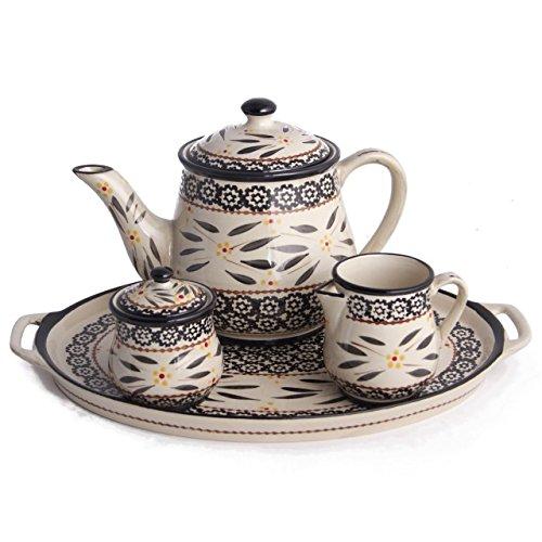 Temp-tations Old World 4-pc. Tea Set, Black