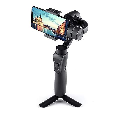 Goolsky JXR-S5 3-Axis Handheld Gimbal w / Tripod Bandeja Estabilizador Selfie Stick