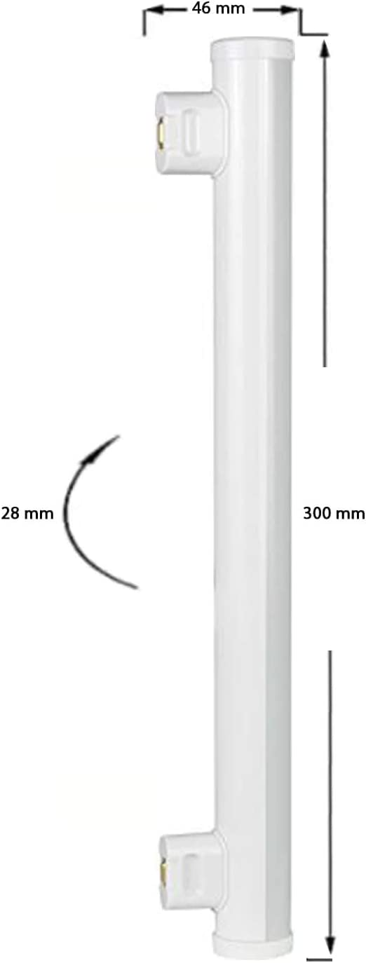 Sylvania ToLEDo L/ámpara de l/ínea LED 30 cm, 3,5 W, equivalente a 35 W, 2700 K, 30 cm 2 Lampen color blanco c/álido