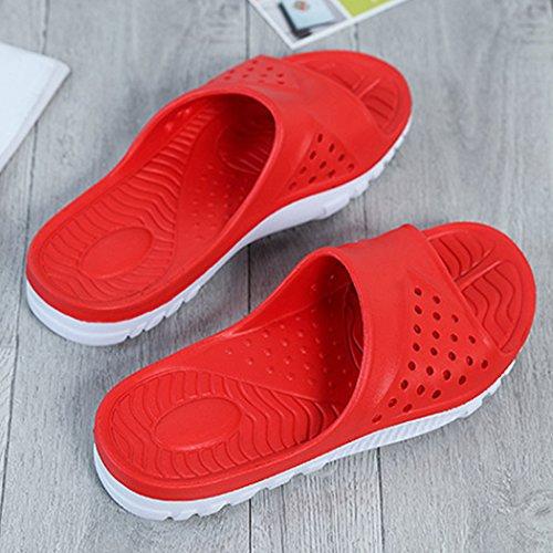 f2f8d129706 Bathroom slippers outgeek pair home sandals anti slip eva bath slippers for  men red jpg 500x500