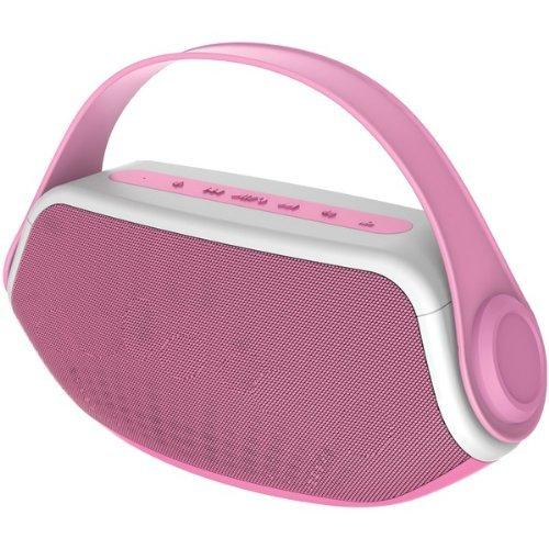 Sylvania SP233 Pink Wireless Bluetooth Portable