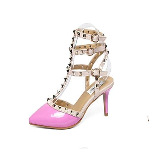 7ca16da986 Top Shishang Womens Ankle Strap Pump Party Dress High Heel Court Shoes Sexy  Club bar Wedding