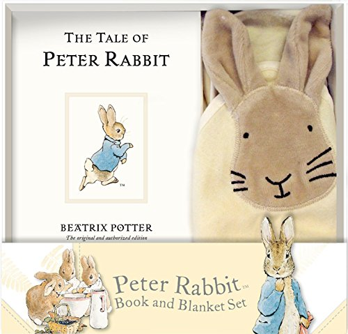 Peter Rabbit Book and Blanket