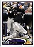 2012 Topps Baseball Card # 547 Jason Giambi - Colorado Rockies - MLB Trading Card