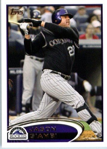 Colorado Rockies Collectibles (2012 Topps Baseball Card # 547 Jason Giambi - Colorado Rockies - MLB Trading Card)