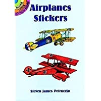 Airplanes Stickers (Dover Little Activity Books Stickers)