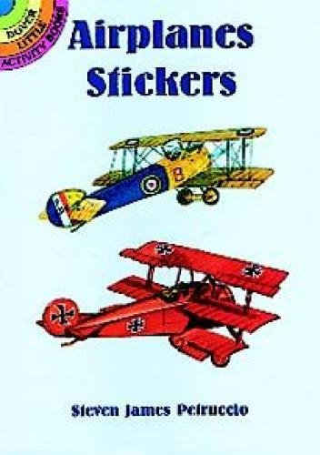 - Airplanes Stickers (Dover Little Activity Books Stickers)