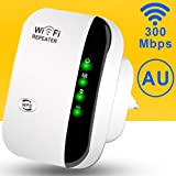 WiFi Range Extender,300Mbps Wireless Repeater 2.4G Internet WiFi Signal Booster Amplifier Supports Repeater/AP, 2.4G…