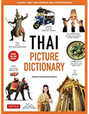 Thai Picture Dictionary: Learn 1,500 Thai Words and Phrases - The Perfect Visual Resource for Language Learners of All Ages (Includes Online Audio)