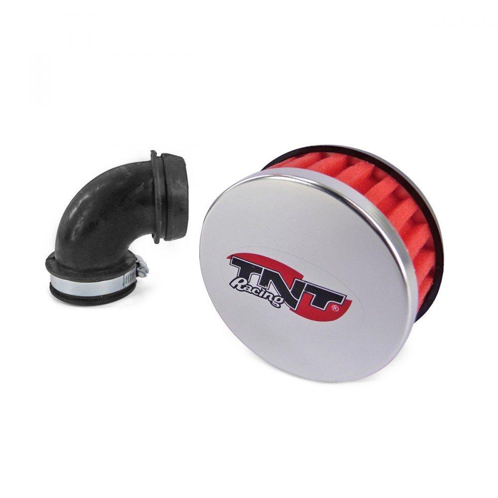 Filtro aria TNT R Box, ad angolo di 90 gradi, rosso ad angolo di 90gradi