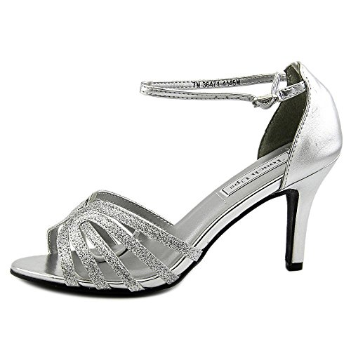 Touch Ups Women's Rapture Dress Sandal, Silver, 11 M US