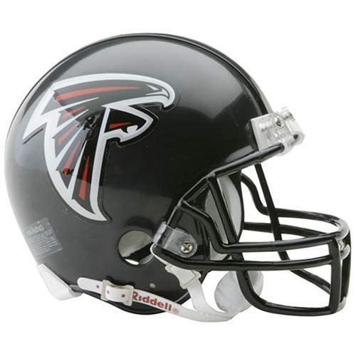 (Riddell Collectible Replica NFL Football Helmet - Atlanta Falcons)
