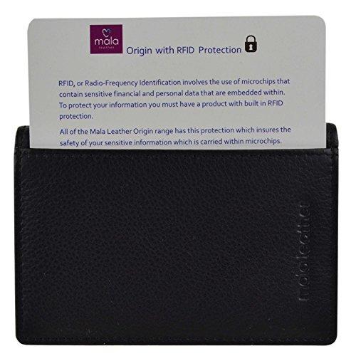 Origin Mala Unisex Collezione Gift Di Nero Carte Porta Credito Black Ypwr1Yq