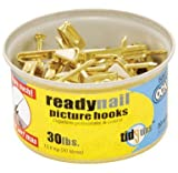 Tools & Hardware : Ook Ready Nail Conventional Hook Tidy Tin 30 Lb Tin