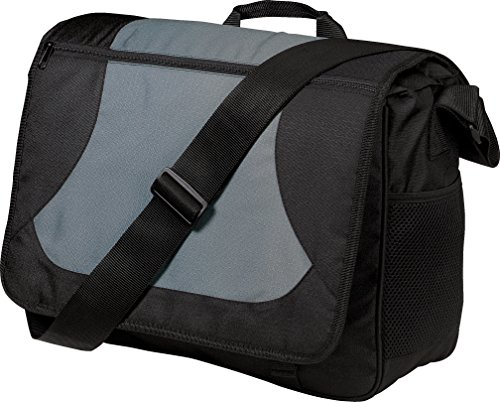 Port Authority - Bolso bandolera de Lona  unisex Dark Grey/Black