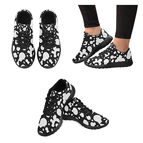 InterestPrint Womens Jogging Running Sneaker Lightweight Go Easy Walking Comfort Sports Athletic Shoes NgHIBg