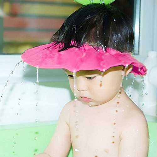 Baby Kids Soft Shampoo Bath Shower Cap Hat Waterproof Shield for Children (Adult Manila Online)