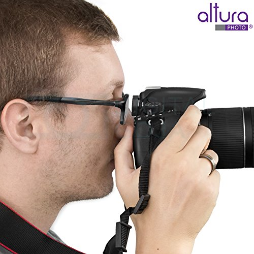 Altura Photo Eyepiece / Eyecup (Canon EF Replacement) for CANON Rebel (T5i T4i T3i T3 T2i T1i XTi XSi XS), CANON EOS (1100D 600D 550D 500D 450D 400D 350D 300D) DSLR Cameras + Premium MagicFiber Microfiber Lens Cleaning Cloth