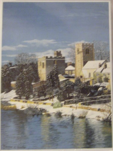 West Tanfield Trevor Wells 1000 Piece Puzzle by Mouth and Foot Painting Artist