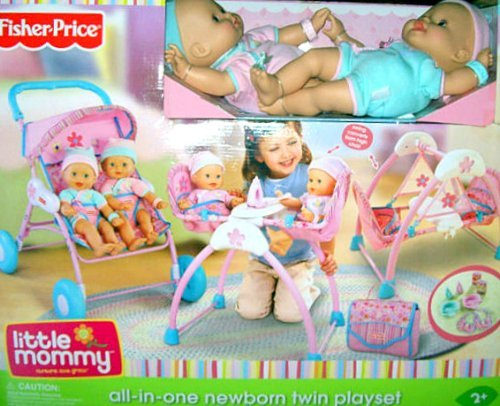 Fisher-Price Newborn Twin Play Set - Caucasian