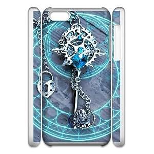 iphone 5C 3D Phone Case White Kingdom Hearts F6569174