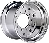 Accuride 41140SP - 14 x 22.5 Aluminum 10-Lug Semi-Polished Trailer Wheel