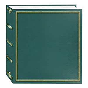 Pioneer Photo Albums TR-100/T Magnetic 3-Ring 100 Page Photo Album, Teal