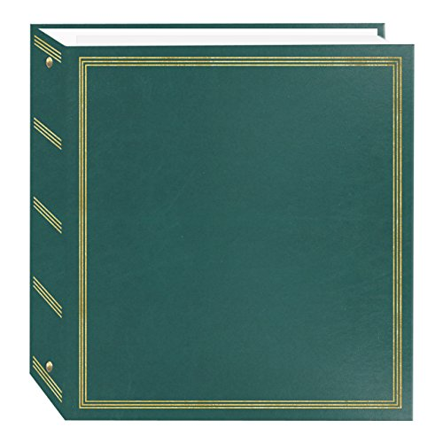 Pioneer Photo Albums TR-100 Teal Magnetic 3-Ring Photo Album 100 Page
