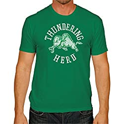 NCAA Marshall Thundering Herd Men's Victory Vintage Tee, XX-Large, Kelly