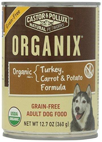DOrganic, 95% organic, Grn Free, Trky& Car, 12.7 oz (pack of 24) by Merrick Pet Foods