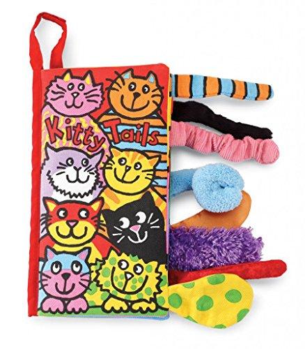 Jellycat Soft Cloth Baby Books, Kitty (Infant Kitty)