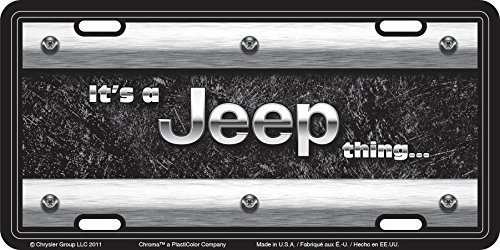 Jeep License Plate - 4