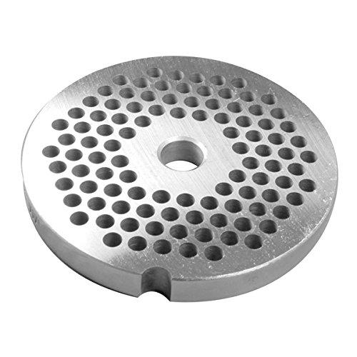 - LEM #8 Premium Salvinox Stainless Steel Grinder Plate - 4.5Mm (3/16