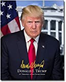 Official portrait photo of President Donald Trump, with signature and text indicating name and title. NOTE: Signature is a pre-printed reproduction. Photo is not hand-signed.PHOTOGRAPHER / CREDIT: White HouseABOUT OUR PHOTOGRAPHSIf you're looking for...