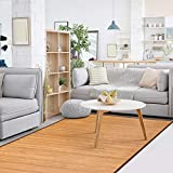 Giantex 5'x8' Bamboo Area Rug Floor Carpet Natural