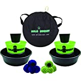 BULZiBUCKET Next Generation Cornhole Game - Indoor/Outdoor Beach, Tailgate, Camping, Pool & Yard Game